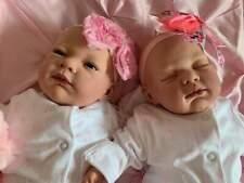 Stunning Reborn Baby Girl Newborn Twins Anna Lotty Child Friendly 3+