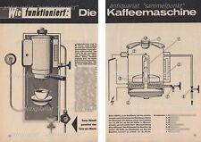 WMF Blitz 1000 Frischwasser Kaffeemaschine - Original Bericht von 1965