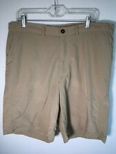 Men's Patagonia Swim Shorts Khaki Size 38 board shorts button top