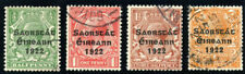 Ireland 1922 KGV set complete very fine used. SG 67-70. Sc 59-62.