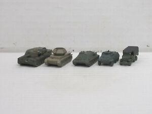 Militärfahrzeuge aus Weißmetall, o.OVP, Skytrex/Mercator, ca. 1:200/220, Set 10
