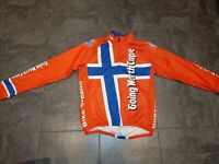 Agu Medium Norway Going North Cape Men's Cycle Jersey Longsleeve L64cm W50cm