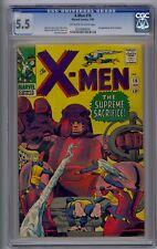 X-MEN #16 CGC 5.5 3RD SENTINELS