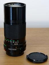 Canon FD 200mm f4 (nFD)