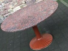"vintage ZANOTTA DINING TABLE ""Quadritondo"" Memphis Style 70er/80er Jahre Ø 120cm"