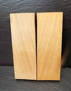 English Oak Book matched Knife scales Knife Making