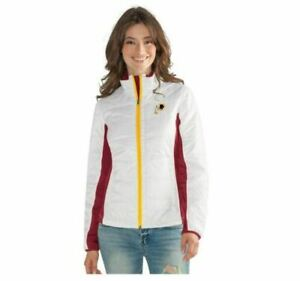G-III 4her Washington Redskins Women's Grand Slam Full Zip Jacket - White