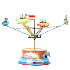 Rotating Spacecraft Model Tin Collectibles Toy Gifts