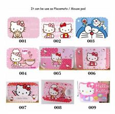Cute Hello Kitty Kitchen Placemats Bowl Mat Insulation Mat