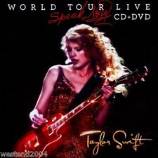 Taylor Swift - Speak Now World Tour Live - CD + DVD Set NEW & SEALED 2011  rock