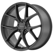 "4-KMC KM694 Wishbone 18x8 5x4.5"" +35mm Satin Black Wheels Rims 18"" Inch"