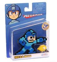 "Megaman 8-bit  2.5"" Figure 30th Year Jakks Pacific Capcom Pixel New in Package"