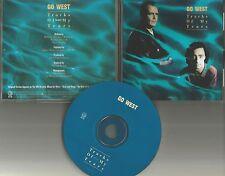 Peter Cox GO WEST Tracks of my tears PROMO DJ CD single Smokey Robinson Remake