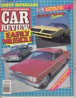 Muscle Car Review Dec 1985 Chevy Supercars - 1971 Pontiac GTO Judge - MAGAZINE