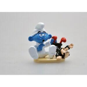 Figurine Le bébé Schtroumpf et sa poupée Gargamel - PEYO - Pixi - 06462