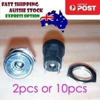 2-10pcs DC Power Supply Jack 3.5x1.3mm Socket Female Panel Mount DC-022B DC022B