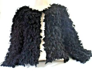 Wild Flower Black Cardigan Shrug Size S/M Brand New with tags