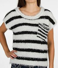 Sweater Daytrip Striped Plush Sweater SZ Medium From The Buckle BKE New NWT