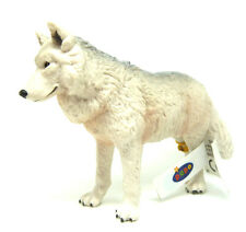 T12) Papo (50195) Polarwolf Wolf Arktischer Wolf  Tierfiguren