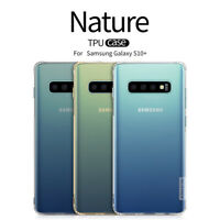 Nillkin Nature TPU, Clear Silicone Soft Case Cover Samsung Galaxy S10+
