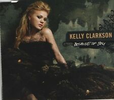 KELLY CLARKSON Because of You 2 TRACK CD NEW - NOT SEALED