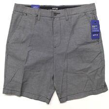 Men's Apt. 9 Premier Flex Regular-Fit Crosshatch Textured Stretch Shorts - Black
