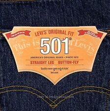 Levis 501 Jeans New Size 38 x 30 DARK STONEWASH Mens Button Fly #472