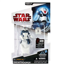 Star Wars Legacy Collection McQuarrie CONCEPT SNOWTROOPER Toy Figure très rare