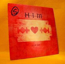 Cardsleeve single CD HIM Join Me 2TR 2000 Alternative Rock, Heavy Metal
