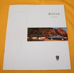 Rover Tourer 1997 (GB) Prospekt Brochure Depliant Catalogue Catalog Prospetto
