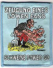 """Anti 1860 Aufnäher """"Zeugung eines Löwen-Fans""""  Kutte"""