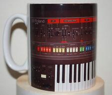 Custom Roland jupiter 8 vintage Synthesizer novelty mug studio producer keyboard