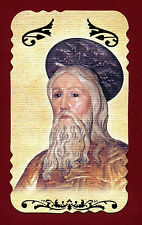 santino HOLY CARD  -  SAN PAOLO EREMITA