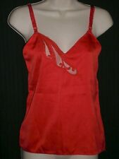 Vintage Lorraine Women's Red Camisole Made in USA Size 32  B:32 W:31 L:18