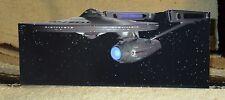 """Star Trek 1979 Film NCC-1701 USS Enterprise Tabletop Display Standee 11"""" Long"""