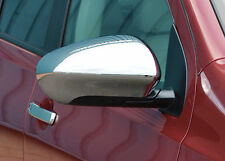 CHROME MIRROR COVERS CAPS WINGS MOLDING SIDE TRIM for NISSAN QASHQAI 2010-2013