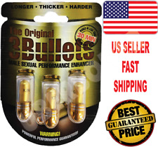 #1 ORIGINAL 3 BULLETS FAST ACTING MALE SEXUAL PERFORMANCE ENHANCER 🍑🍆🍑🍆🔥🔥