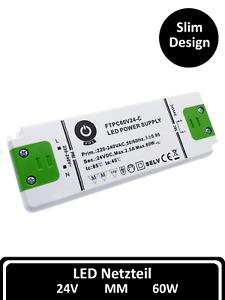 POS LED Schalt Netzteil 24V 60Watt Driver Treiber Trafo Netzgerät für Streifen