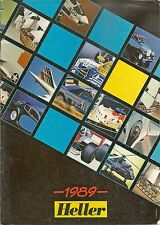 Catalogue vintage Heller 1989