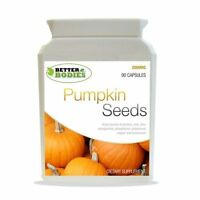 Pumpkin Seed Tablets 2000mg  Health Supplement 90 Capsules Bottle