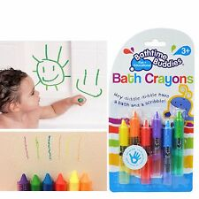 Bathtub Bath Crayons Paint Pens Kids Toddler Toys Coloured Write on Wipe Water