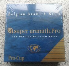 Super Aramith Pro (Pool and Billiard Balls) ARAMITH - The Belgian Billiard Balls