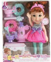 "Fancy Nancy Disney Jr. My Friend Doll 15"" ITall & 8 pc Tea Party Set New"