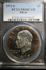1971-S PCGS PR68CAM One Dollar Silver Coin