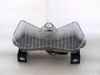Feu LED + clignotants intégrés KAWASAKI Z750 Z1000 2003 2004 2005 2006 CLAIR