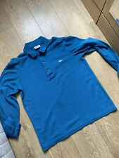 Lacoste Polo Shirt Size Extra Small Mens Long Sleeve
