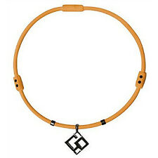 "Trion:Z Necklace Elite with CO Pendant (Orange, Large 22"")"