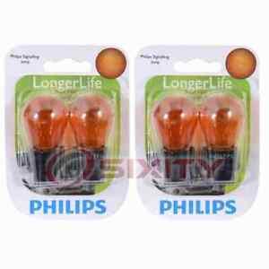 2 pc Philips Front Turn Signal Light Bulbs for Pontiac Firebird G5 Grand Am fz