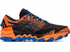 Asics Chaussures de Course pour Homme Gel Fuji Trabuco 8 Gore-Tex Noir Orange