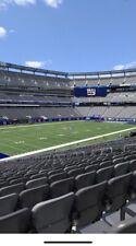 3 Tickets NEW YORK GIANTS vs Los Angeles Rams 10/17/21 LOWER LEVEL